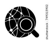 search global net icon | Shutterstock .eps vector #749315902