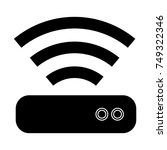 router icon   Shutterstock .eps vector #749322346