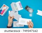 kaunas  lithuania   november 05 ... | Shutterstock . vector #749347162