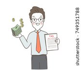 draw vector illustration... | Shutterstock .eps vector #749351788
