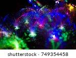 colorful  light | Shutterstock . vector #749354458