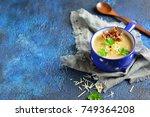 Potato Cream Soup With Cheese ...