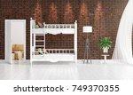 modern interior design of...   Shutterstock . vector #749370355