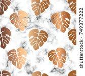 vector marble texture design... | Shutterstock .eps vector #749377222