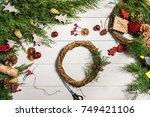 How To Make Christmas Door...