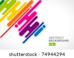 urban designed background with... | Shutterstock .eps vector #74944294