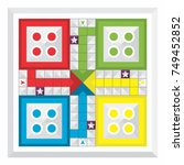 Various Family Game Board  Ludo.