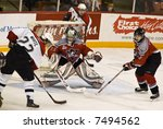 Small photo of CHL Hockey Action - Halifax Mooseheads versus Drummondville Voltigeurs (Dec 2, 2007)