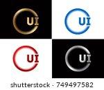 ui logo. letter design vector...