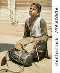 agra  india   september 29 ... | Shutterstock . vector #749503816