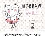 vector template of a children... | Shutterstock .eps vector #749522332