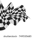 checkered flag background... | Shutterstock .eps vector #749535685