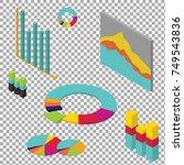 isometric infographic for... | Shutterstock .eps vector #749543836