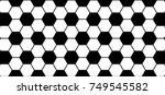 soccer background. ornament... | Shutterstock .eps vector #749545582