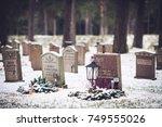 stockholm  sweden   november 6  ... | Shutterstock . vector #749555026