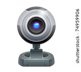 webcam vector illustration