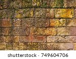Background Texture Of A Natura...