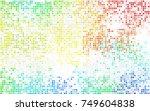 dark blue  red vector... | Shutterstock .eps vector #749604838
