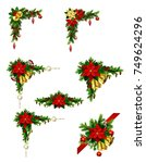 christmas elements for your... | Shutterstock .eps vector #749624296