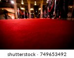red carpet at an exclusive event | Shutterstock . vector #749653492