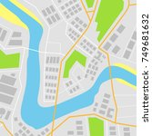 map vector illustration | Shutterstock .eps vector #749681632