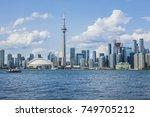 toronto  canada   august 24 ... | Shutterstock . vector #749705212