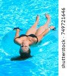 faliraki rhodes greece... | Shutterstock . vector #749721646