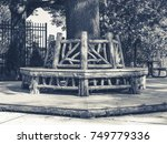 Outdoor Rotunda Bench Seating...
