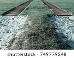 image of long jump tack and... | Shutterstock . vector #749779348