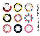 Design Skate Wheels. Vector...