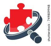 icon logo for business...   Shutterstock .eps vector #749809948
