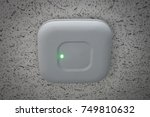 ceiling access point wifi | Shutterstock . vector #749810632