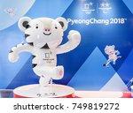 seoul  south korea   october 12 ... | Shutterstock . vector #749819272