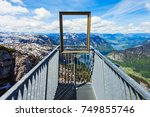 5 fingers is a viewpoint...   Shutterstock . vector #749855746