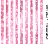 Pink Winter Background....