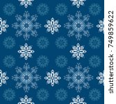 Seamless Pattern Of White And...