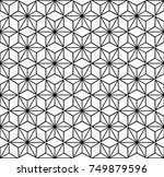 geometric seamless pattern....   Shutterstock .eps vector #749879596