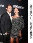 "Small photo of LOS ANGELES - NOV 4: Matthew Alan, Camilla Luddington at the ""Grey's Anatomy"" 300th Episode Event at Tao on November 4, 2017 in Los Angeles, CA"