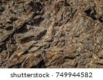 stone texture. stone background.... | Shutterstock . vector #749944582