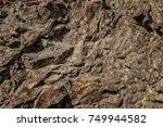 stone texture. stone background.... | Shutterstock . vector #749944582