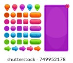 cute colorful abstract assets...