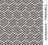 vector seamless pattern. modern ... | Shutterstock .eps vector #749966812
