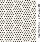 vector seamless pattern. modern ...   Shutterstock .eps vector #749966818