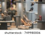 luxury women shoes | Shutterstock . vector #749980006