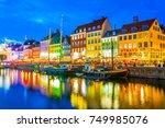 copenhagen  denmark  august 20  ... | Shutterstock . vector #749985076