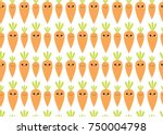 fresh food. seamless pattern... | Shutterstock .eps vector #750004798