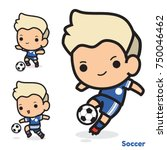 vector set of soccer cartoon...