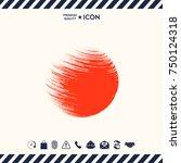 logo earth symbol | Shutterstock .eps vector #750124318