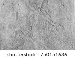 cement wall background loft... | Shutterstock . vector #750151636