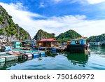 hai phong  vietnam   sep 23 ... | Shutterstock . vector #750160972